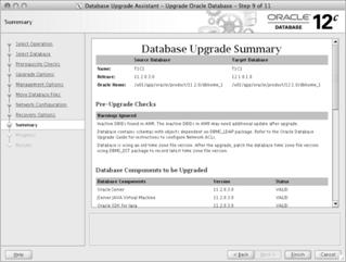Upgrade to Oracle12c tips