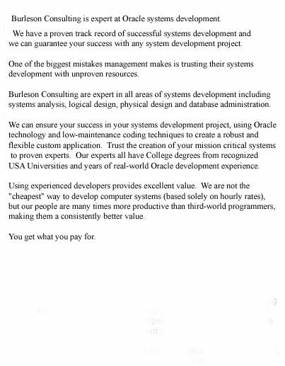 Oracle Systems Programming Program Development Louisville Kentucky