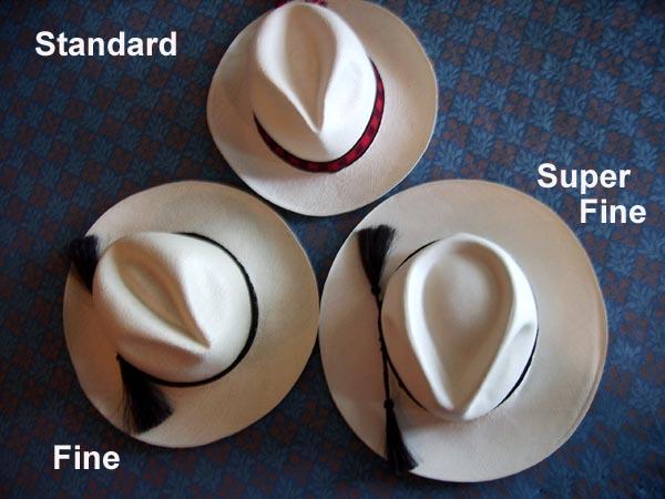 Woven Panama Hats