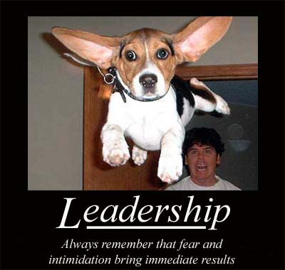Motivational poster borrowed from dba-oracle.com (actual origin, somewhere out on the internets)