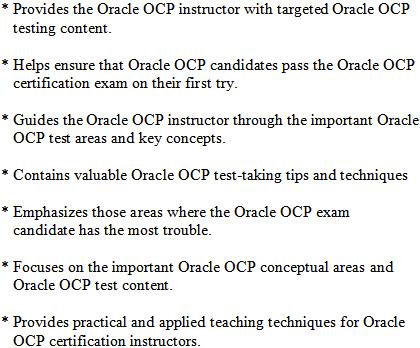 Oracle OCP