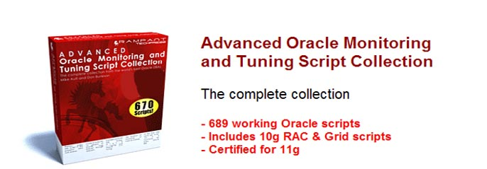 Oracle tuning scripts