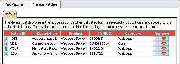 How to Apply WDJ7 Patch Offline to Weblogic Server 1032