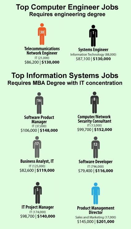 2010 Top Computer Information Systems jobs