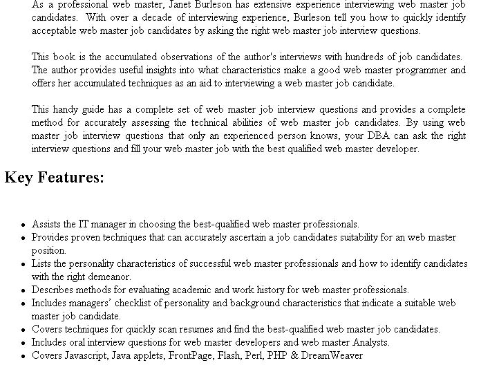 COMPLETE INTERVIEW ANSWER GUIDE PDF